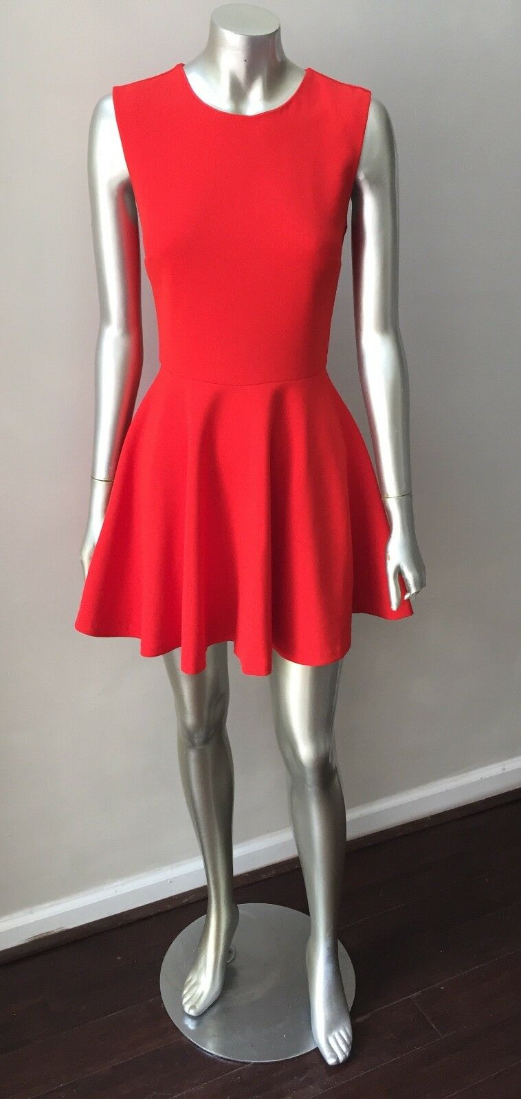 Diane Von Furstenberg DVF Fit N Flare Swing Mini Summer Party Dress Size S
