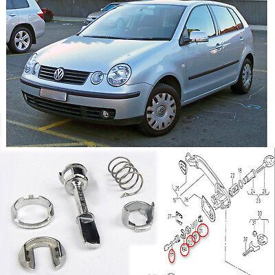 VW POLO 9N FOX SERRATURA CILINDRO KIT RIPARAZIONE ANTERIORE SX o dx