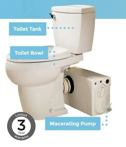 Thetford Complete Pro System W Elongated Bowl Bathroom Anywhere White 38758 Ebay