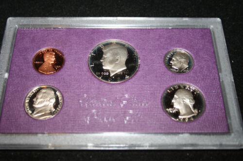 1984 US Mint Proof Set Kennedy Half Dollar Proof Birth Year Free Shipping 007800