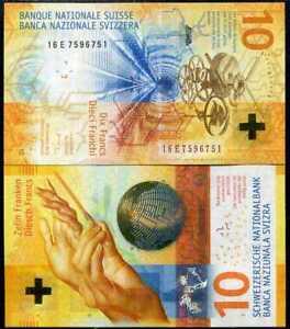 2017 P-New Hybrid Polymer Swiss National Bank Unc 2019 Switzerland 100 Francs