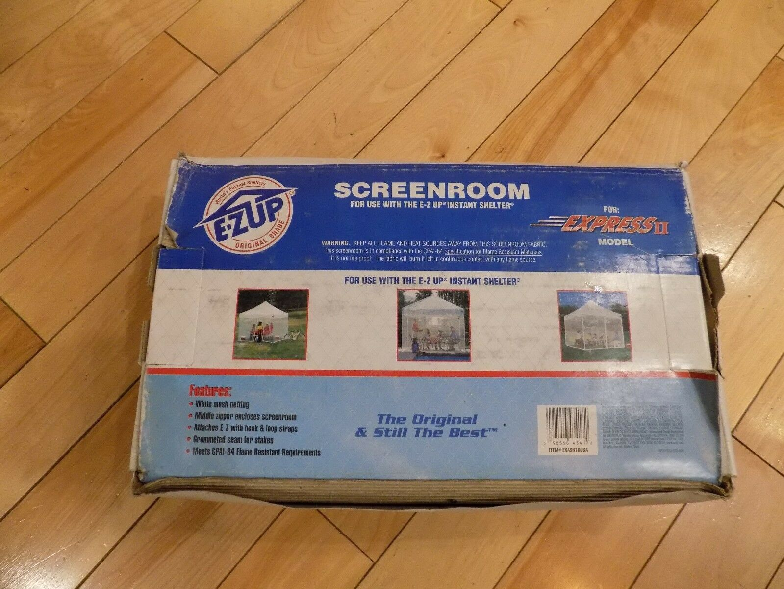 E-Z Up  Screenroom Screen ONLY Room For Express II Model Instant Shelter  clearance