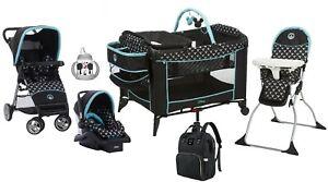 Baby Boy Combo Set Stroller Car Seat Playard High Chair ...