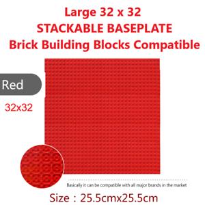 Large 32 x 32  BASEPLATE Brick Building Blocks Compatible  STACKABLE