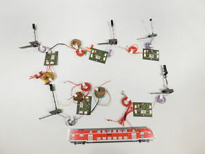 CT301-0,5# 5x Märklin H0 Digital-Signale/Lichthauptsignal 763**?  ungeprüft