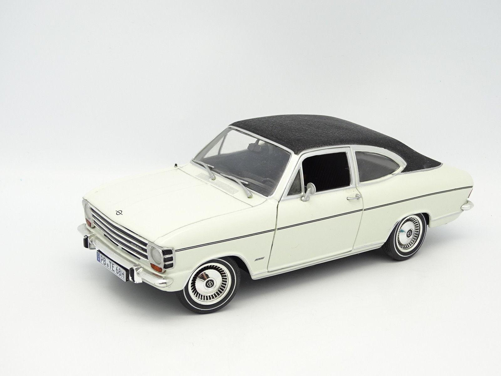 Joyeux noel Revell 1/18 Opel Kadett Olympia 1968 Blanche | Design Attrayant