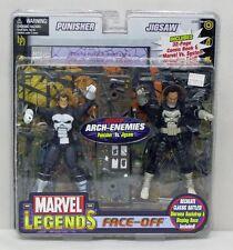 Marvel Legends Faceoff Series 2 Punisher Jigsaw ToyBiz NIP 5+ 2006 6 Inch S171-4