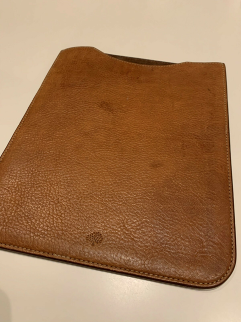 Cover, t. iPad, God, Mulberry Ipad 3 cover sælges. Det er…