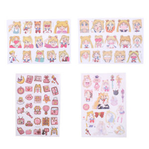 New-Sailor-Moon-Girl-Decorative-Sticker-Set-Diary-Album-Label-Sticker-Pip-LY