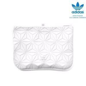 Adidas Issey Miyake WHITE Clutch 3D Mesh Bao Bao Inspired Design  0cd9d6444efeb