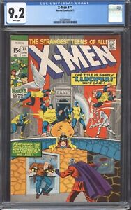 UNCANNY-X-MEN-71-1971-CGC-9-2-NM-Marvel-Comics-Lucifer