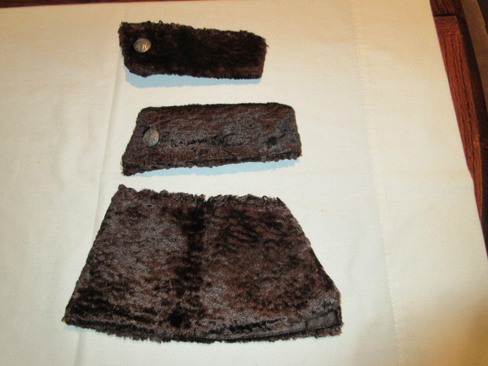 Women's Clothing, Fur Cuffs And Women's Tuxedo Accesory