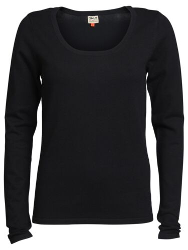 Only Femmes Tricot Pull Lina O-Neck Knit Pull Haut Basic Shirt nouveau