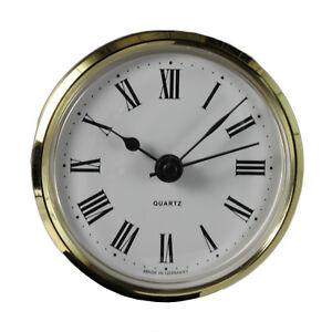 Uhrwerk-Quartz-Einsteckwerk-Einbau-Uhr-Modellbauuhr-66-mm-Batterie-inklusive