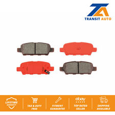 Nakamoto Brake Pad /& Rotor Kit Semi Metallic Front /& Rear for G20 Altima Sentra