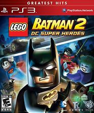LEGO Batman 2: DC Super Heroes [PlayStation PS3, Greatest Hits, Kids Action Fun]