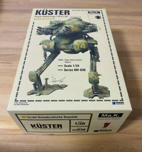 WAVE-Maschinen-Krieger-KUSTER-1-20-Scale-Model-Kit-MK-038-NEW