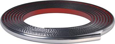 100% De Calidad Chrome Car Door Bumper Wheel Arch Moulding Strip Fits Renault 14mm (005) Aspecto Guapo