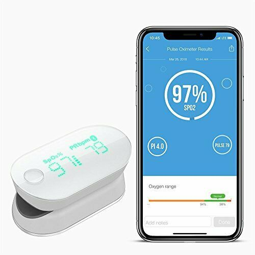 Wireless blueetooth Oximeter for Easy Blood Oxygen &  Pulse Rate Level Measurement  team promotions