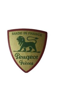 Peugeot Freres Logo  Kaffeemühle Restaurieren GoGrün Metallic 28x32 mm