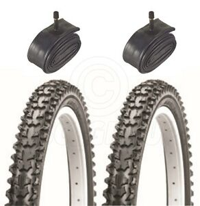2-Bicycle-Tyres-Bike-Tires-Mountain-Bike-26-x-1-95-With-Schrader-Tubes
