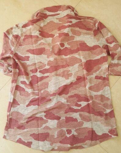 3 lino Filati Taglia 100 mimetica in rosa Majestic Camicia v8qwxORw