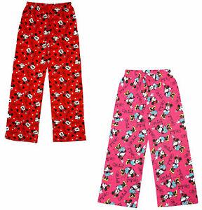 filles-Minnie-Mouse-PERSONNAGES-coton-vetement-de-detente-Pantalon-bas-de-pyjama