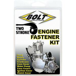 Bolt Motorcycle Engine Fastener Kit for Kawasaki KX 250 1988-07 E-K2-8807