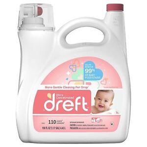 Dreft-Ultra-Concentrated-Liquid-Laundry-Detergent-110-loads-150-fl-oz