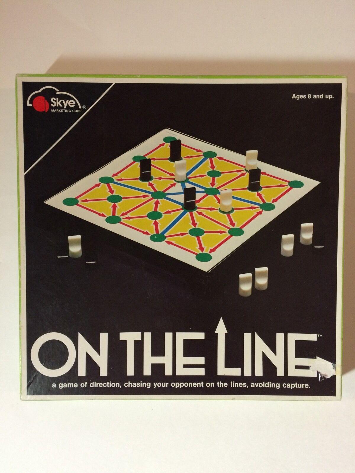 Rare tavola gioco  On The Line cieloe Marketing Corp fatto In Israel Strategy Arrows  moda classica