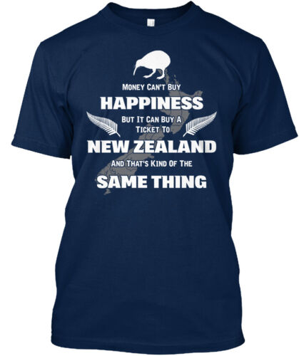 Money Can/'t Buy Happiness But Stylisches T-Shirt Machine washable New Zealand