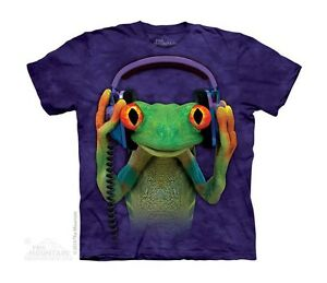 New CELESTIAL FROG DJ Youth T Shirt