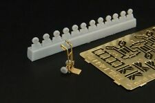Brengun Models 1/144 HAND TRUCK (4) Resin & Photo Etch Set