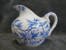 Pot à lait en porcelaine de SARREGUEMINES Minton épines bleu