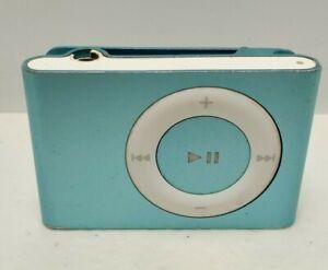 Apple Teal Mint Green Ipod Shuffle 2nd Gen 1gb Mp3 Player Ebay