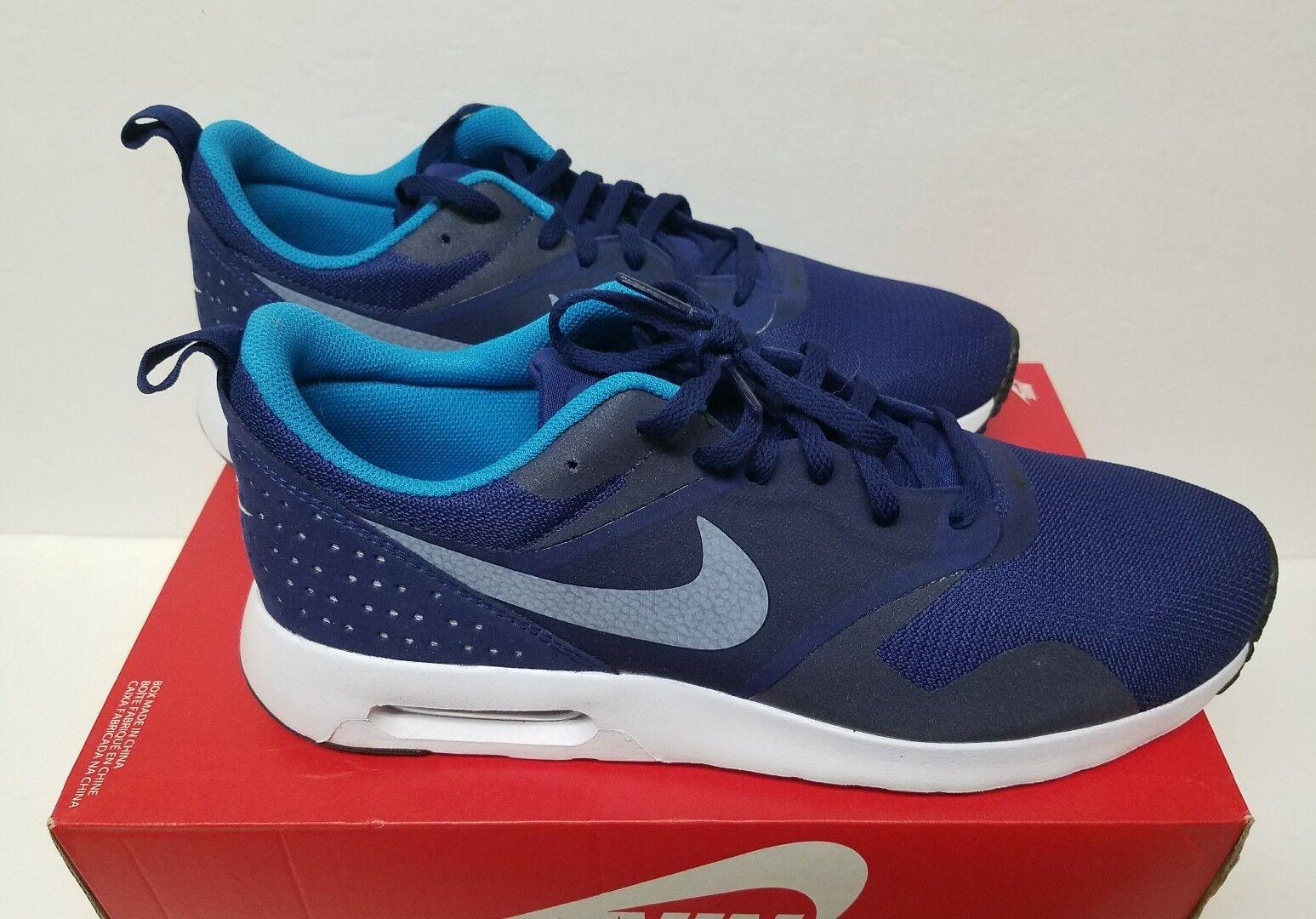 Nike air max tavas sz 11 lagoon-nero blu reale / white-bl lagoon-nero 11 uomini 705149 405 f16f23