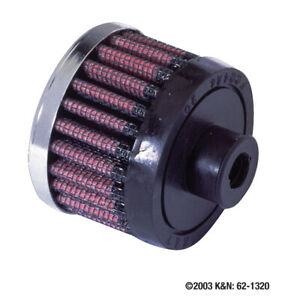 62-2470-K-amp-N-Universalluftfilter-zylindrisch-Flansch-mittig-8mm-amp-Oslash-unte