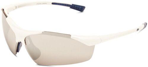 Hommes Eyelevel Marathon Sports Enveloppe Autour De 100/% UV incassable Blanc Lunettes De Soleil
