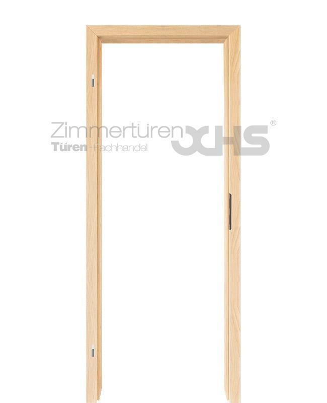 Türzarge Ahorn CPL Zarge mit Designkante 60mm Zierbekleidung