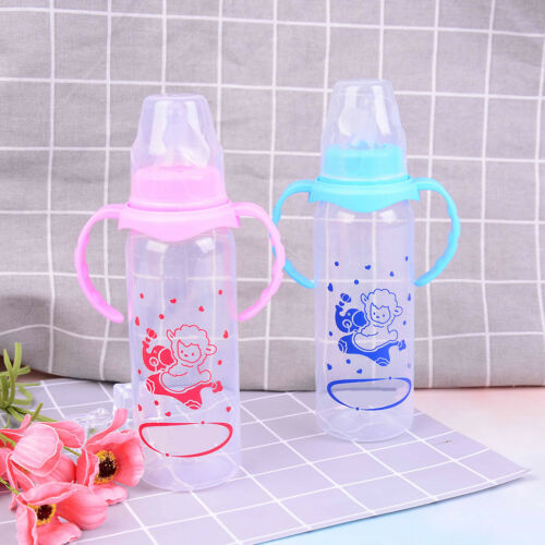 Newborn baby feeding bottle baby feeding water standard caliber pp bottle—HQ