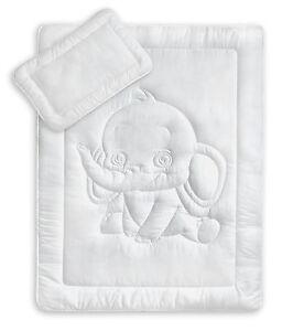 Oeko-Tex-Kinder-Bettdecken-Set-mit-Elefantensteppung-40x60-100x135-cm-95
