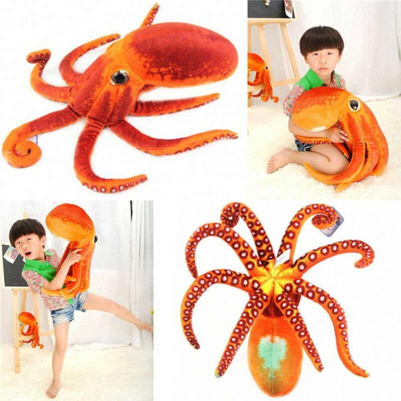 Paul The Octopus Plush Toy Stuffed Animal Doll Soft Toys Kids Xmas Present Gift