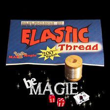 Fil invisible de lévitation élastique - 60 m - Tour de magie