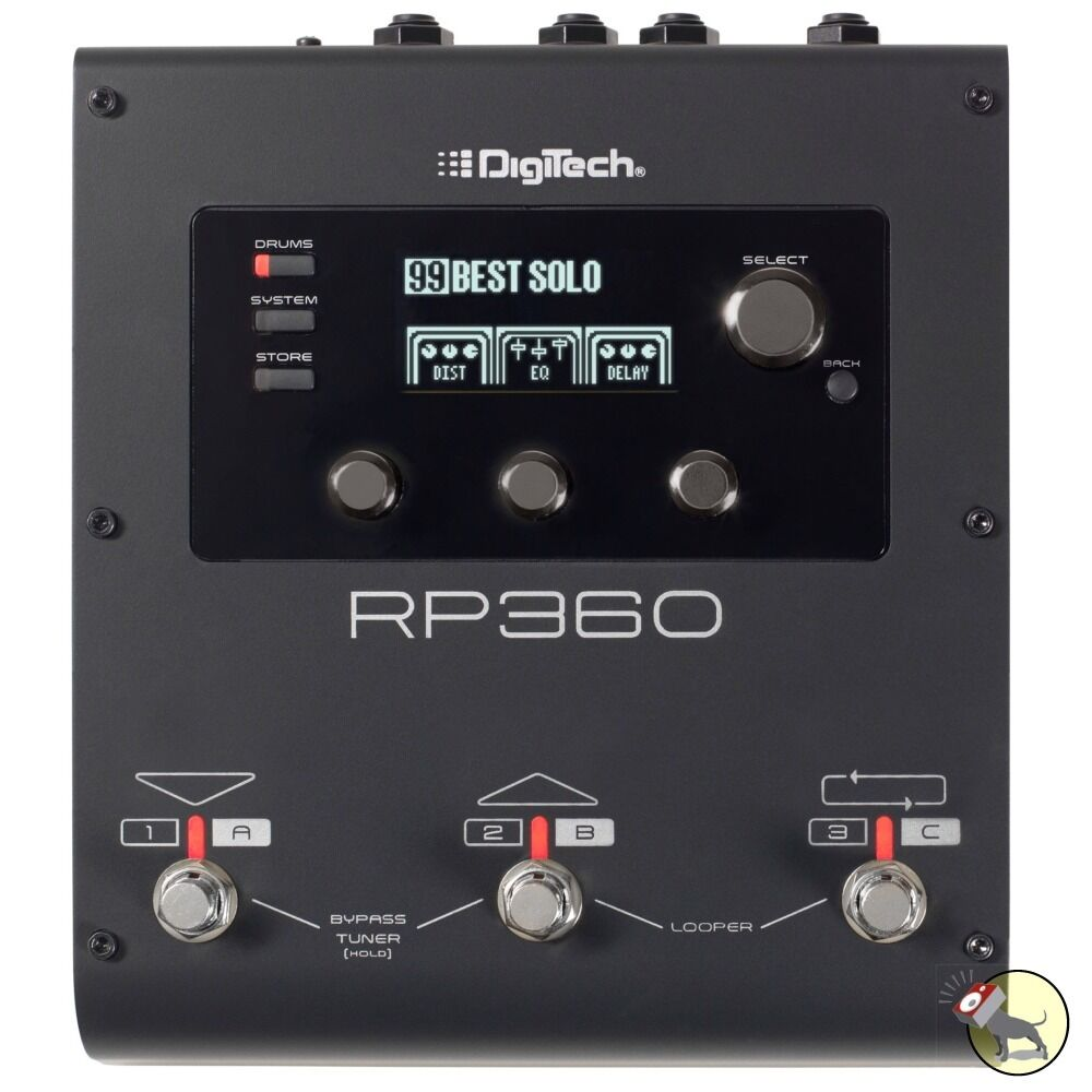 DigiTech RP360 Guitar Effects Multi-Processor Expression Pedal USB Interface