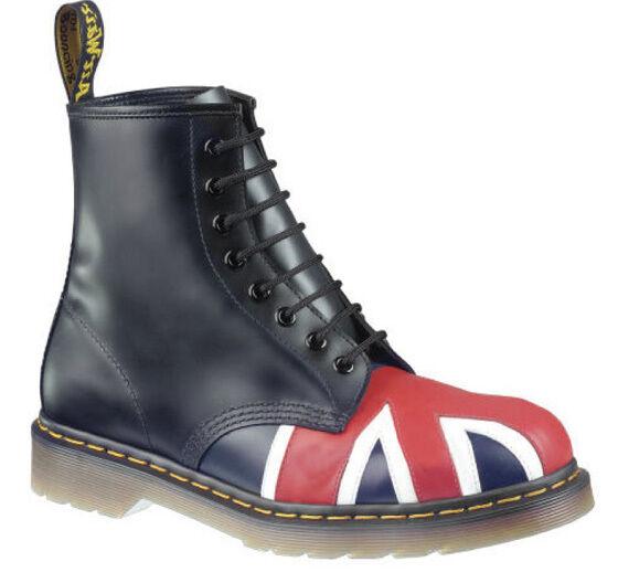 Dr. Martens Stiefel Zapatos Zapatos Docs botas Stiefel Martens Union Jack England Flagge 1460 NEU 8879ac