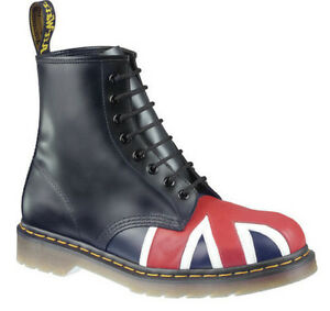 Union Schuhe Boots Jack England Neu Docs DrMartens Stiefel 1460 Flagge Shoes Ku3T1Jl5Fc