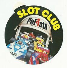 Autocollant sticker Slot club Polistil Formule 1 Ligier Brabham Renault casque