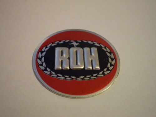Monaro,Torana,Valiant Charger Mini ROH Mag Wheel Cap Sticker.35mm dia.Falcon GT
