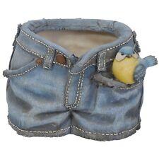 Brand New CINCIARELLA Pantaloncini Di Jeans FIORIERA/Vaso Decorazione Giardino