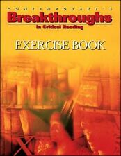 Breakthroughs Exercise: Critical Reading Exercise Book w/answer key  in back